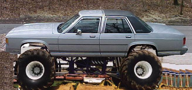 4x4 Crown Vic   Transfer Case From 90 Ranger